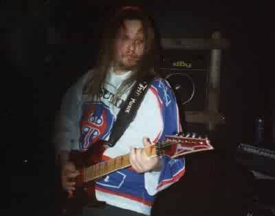 Pekka Kiviaho - Persuader guitarist