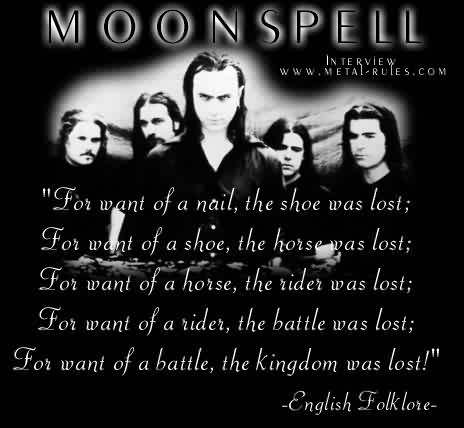 Moonspell - the interview