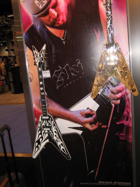 Michael Schenker - Dean Guitars