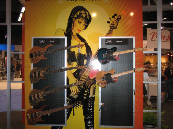 Peavey booth