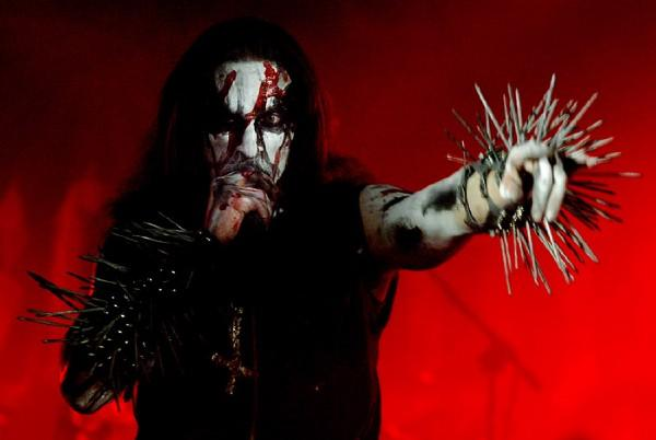 Gaahl in Hamar, Norway 2005 by Lars Harald Kristiansen