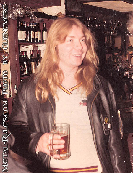 Dave in a NYC pub in 1984