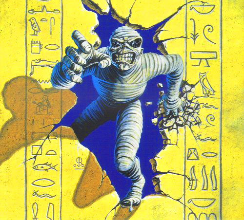 artwork from powerslave