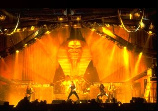 The POWERSLAVE stage....oh to have a time machine eh?