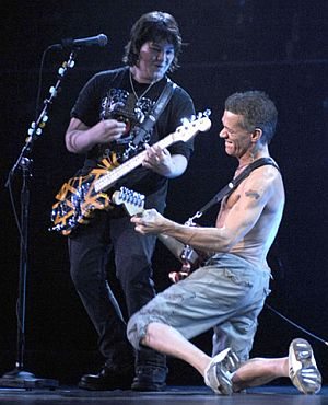 wolfgang and eddie van-halen