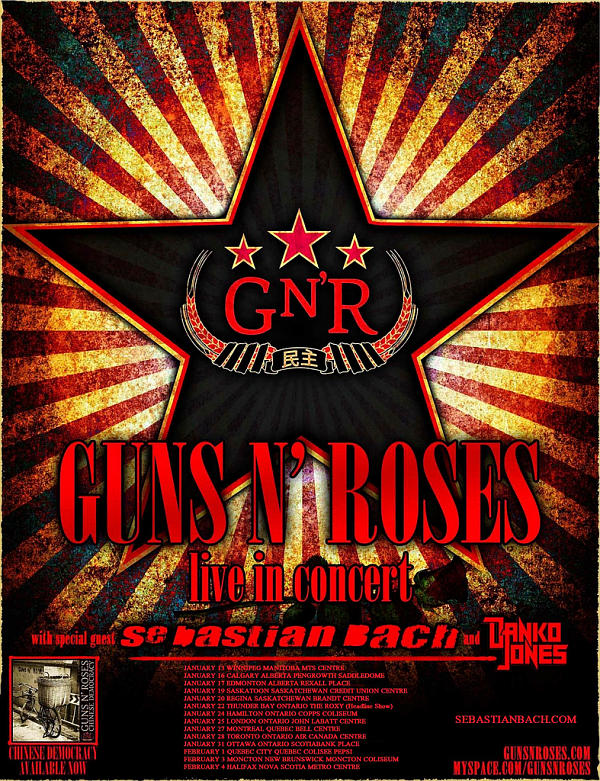 Guns n Roses with Sebastian Bach