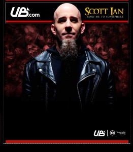 """Scott Ian Send Me To Sonisphere"" poker tournament"