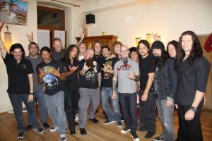 The Big 4: METALLICA, SLAYER, MEGADETH and ANTHRAX