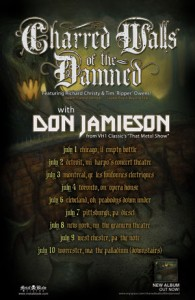Charred Walls Of The Damned tour begins July 1st!