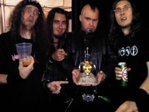 EVILE WINS 'METAL AS FUCK' AWARD AT METAL HAMMER GOLDEN GODS