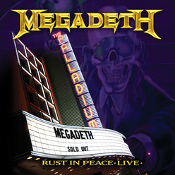 MEGADETH 'Rust In Peace Live' DVD