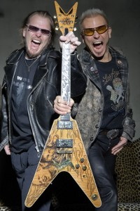 Dean Guitars Promo of Michael and Rudolf Schenker