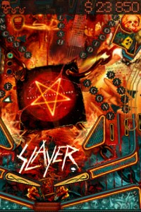 SLAYER SET TO LAUNCH PINBALL APP