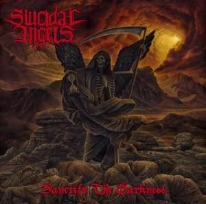 SUICIDAL ANGELS' new full-length Sanctify The Darkness