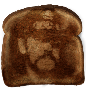 Savior found on toast!