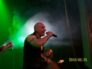 Ralf live with PRIMAL FEAR in Toronto, Canada (May 24, 2010)