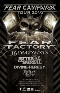 DIVINE HERESY To Tour With FEAR FACTORY