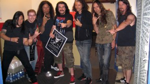 Testament with fans in Halifax, NS, Canada