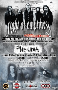 SIGHT OF EMPTINESS: UGLY KID JOE Singer WHITFIELD CRANE To Pay Tribute To RONNIE JAMES DIO In Costa Rica