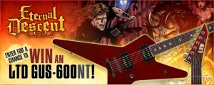 Eternal Descent, ESP Guitars Sponsor Gus G. Guitar Contest