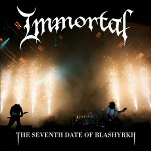 IMMORTAL's first concert DVD