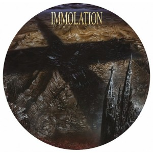 "IMMOLATION - ""Unholy Cult"" VINYL PICTURE DISC EXCLUSIVE"