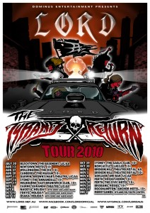 Lord: The Tyrants Return 2010 Tour