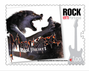 MOONSPELL Stamp From Portuguese Postal Service