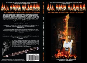 ALL PENS BLAZING – A ROCK & HEAVY METAL WRITER'S HANDBOOK – VOLUME II