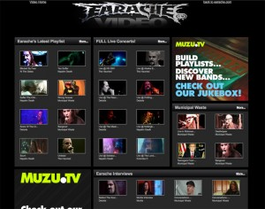 EARACHE RECORDS UNVEILS EARACHE.TV VIDEO WEBSITE
