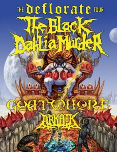 THE BLACK DAHLIA MURDER announces headlining tour