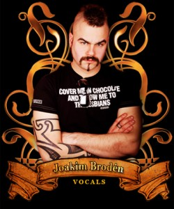Sabaton Vocalist Joakim Brodén