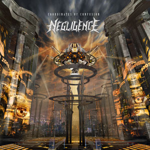 Slovenian Thrash Kings NEGLIGENCE reveals track listing and artwork for 'Coordinates Of Confusion'!