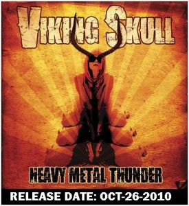 VIKING SKULL's Heavy Metal Thunder To Be Released October 26