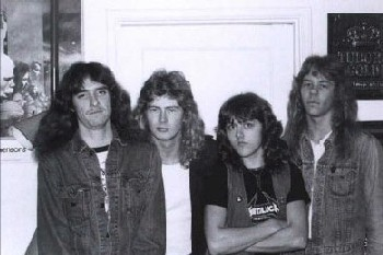 Metallica 1981 - photo from Metallica.com