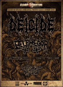 "DEICIDE Announce ""The God Is Dead - To Hell With God"" Headlining Tour"