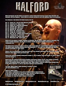 HALFORD CONFIRMS OZZY OSBOURNE NORTH AMERICAN TOUR DATES