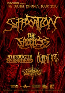 "SUFFOCATION: ""Decibel Defiance"" Tour Dates Announced"