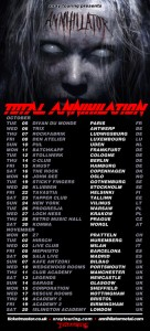 ANNIHILATOR European Tour