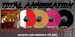 ANNIHILATOR: 'WAKING THE FURY' REISSUE