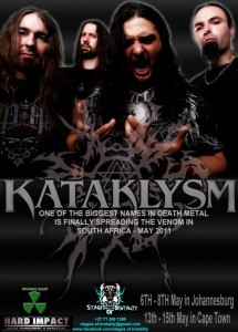 KATAKLYSM: South African Tour Dates Announced