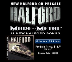 HALFORD IV - MADE OF METAL Coming this month on Metal God Records