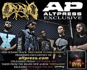 OCEANO: WORLD PREMIERE OF NEW TRACK