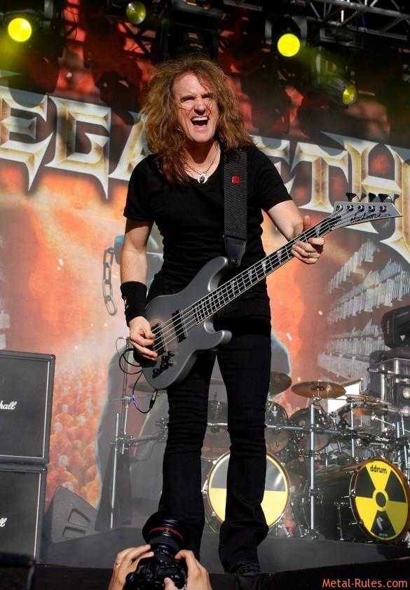 Megadeth - David Ellefsson
