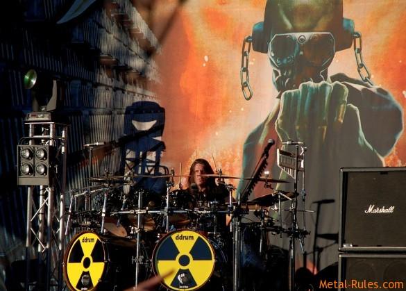 Megadeth - Shawn Drover