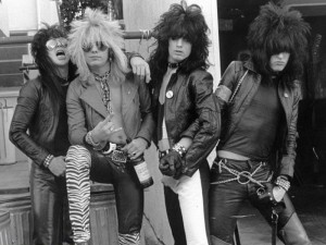 Motley Crue - old promo photo 1981/82