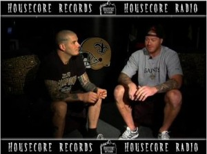 PHILIP ANSELMO INTERVIEW WITH NEW ORLEANS SAINTS TIGHT END JEREMY SHOCKEY