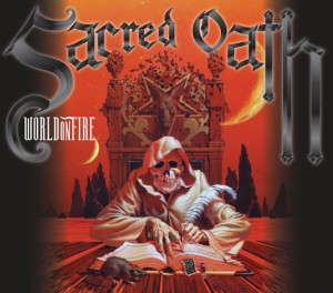 Sacred Oath - World on Fire - DigiPak