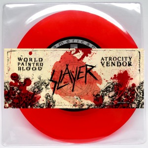 Slayer - 7inch red vinyl single