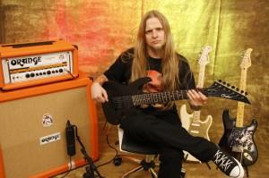Almah guitarist Paulo Schroeber